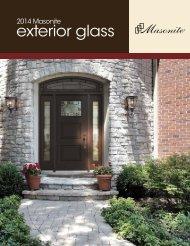 2013 Masonite Exterior Glass