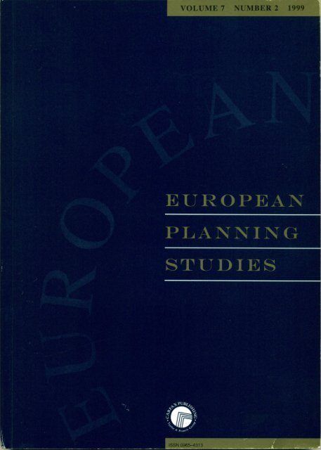The development of planning education and its relation to the ...