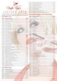 LISTINO new VALIDO FINO A Giugno 2010:Layout 1 ... - Doctor Nails.