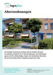 Alterswohnungen - logisplus AG