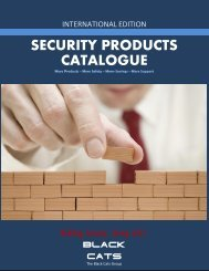 SECURITY PRODUCTS CATALOGUE