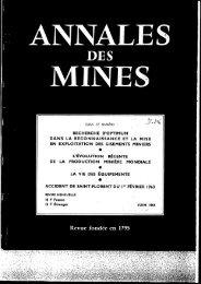 M; - Ecole de Mines de Paris, Centre de Géostatistique