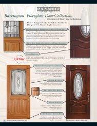 Barrington® Fiberglass Door Collection, - Masonite