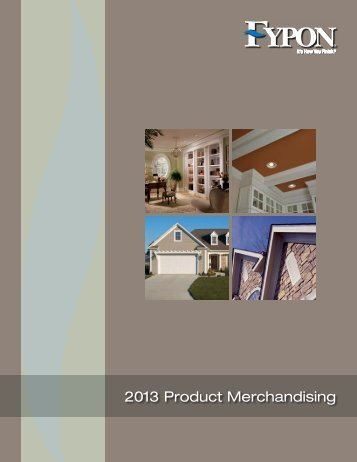 Merchandising Aids Brochure
