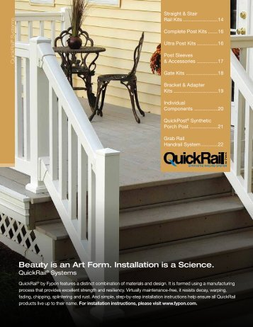 QuickRail Systems Catalog PDF