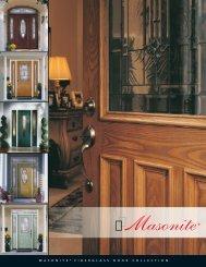 masonite fiberglass door collection