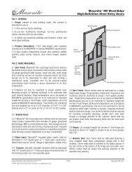 Masonite® HD Wood-Edge High-Definition Steel Entry Doors
