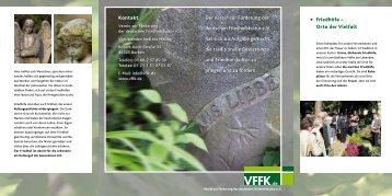 Kontakt Der Verein zur F'rderung der deutschen Friedhofskultur e. V ...
