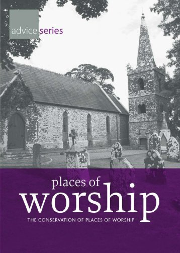 Conservation of Places of Worship (2011) - Dublin City Council