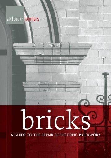 Bricks - A Guide to the Repair of Historic Brickwork - Dublin City ...