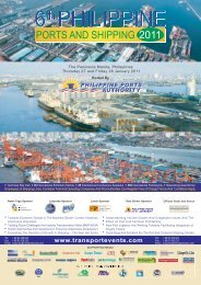 Conference Programme - Philippine Ports Authority