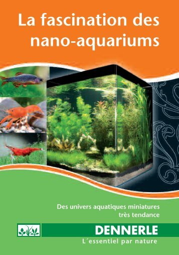 La fascination des nano-aquariums - Dennerle