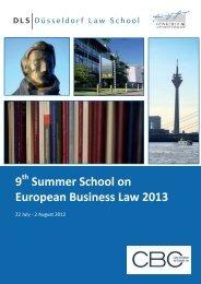 here - Institut für Unternehmensrecht - DLS