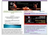 Agenda Cultural ASAB del 13 al 20 de agosto.pdf - Facultad de ...