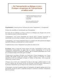 « De l'interprétariat au dialogue à trois ... - ISM Interprétariat
