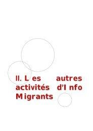 Rapport d'activité 2008 - ISM Interprétariat