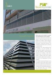Acoustic Louvre brochure - Caice