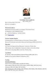 CV Andrea Lippi.pdf - CIRES