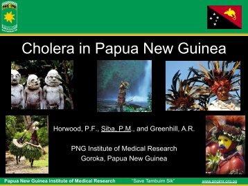 Cholera in Papua New Guinea