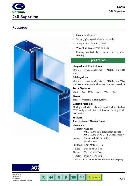 249 Hinged, Pivot and Sliding Doors - Khazma Aluminium Windows ... on