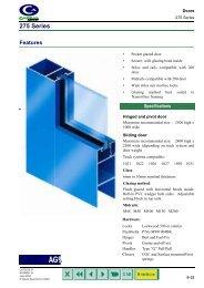 275 Series - Khazma Aluminium Windows & Doors