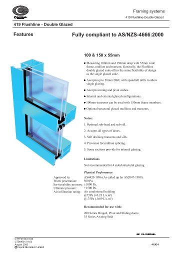 419 catalogue.indd - Khazma Aluminium Windows & Doors
