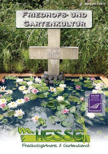 Friedhofs- und Gartenkultur - Kdweb.de