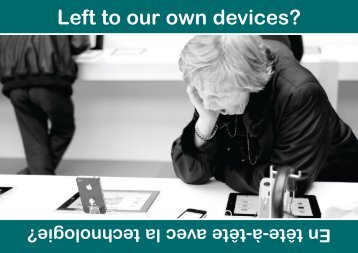 Left to our own devices? - KT-Equal