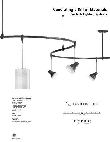 Generating a Bill of Materials - Tech Lighting