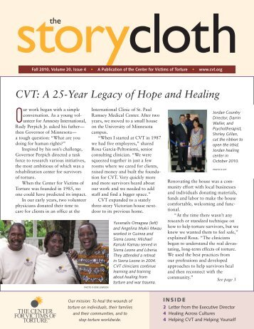 CVT: A 25-Year Legacy of Hope and Healing - The Center for ...