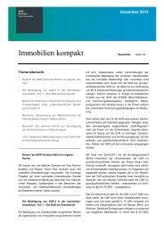 Dezember 2012 Immobilien kompakt - SKW Schwarz