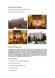 Gainsborough, St Thomas Of Canterbury - Diocese of Nottingham