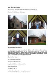 Southwell, Our Lady Of Victories - Diocese of Nottingham