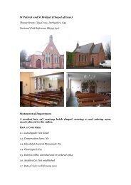 St Patrick and St Bridget - Diocese of Nottingham