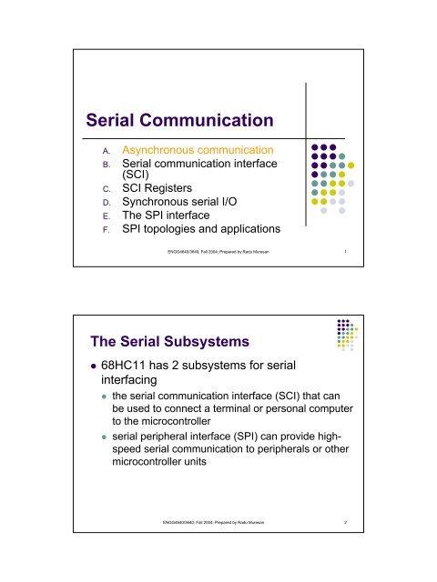 Serial Communication