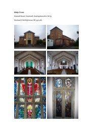 Hucknall, Holy Cross - Diocese of Nottingham
