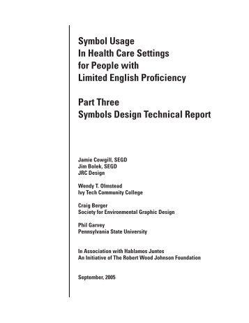 Symbols Design Technical Report - Hablamos Juntos