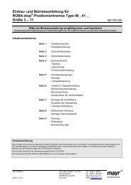 Positionierbremse Type 80_.41_._ Größe 3 – 11 - Mayr