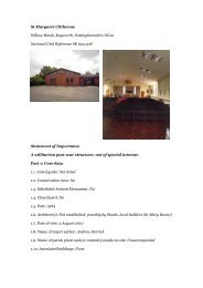 Keyworth, St Margaret Clitherow - Diocese of Nottingham