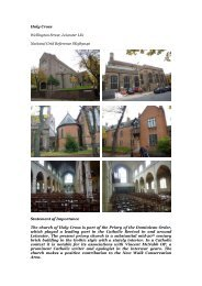 Leicester, Holy Cross - Diocese of Nottingham