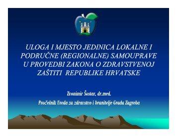 uloga i mjesto jedinica lokalne i područne ... - Fondacija fami