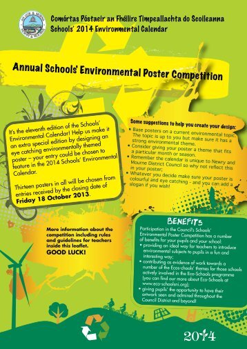 Environmental Poster Competition - Newry and Mourne District ...