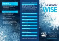 Be Winter - Newry and Mourne District Council