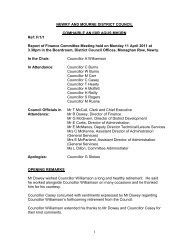 April - Newry and Mourne District Council