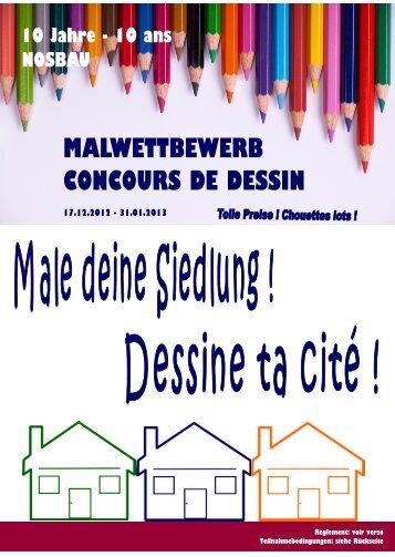 MALWETTBEWERB CONCOURS DE DESSIN - Nosbau