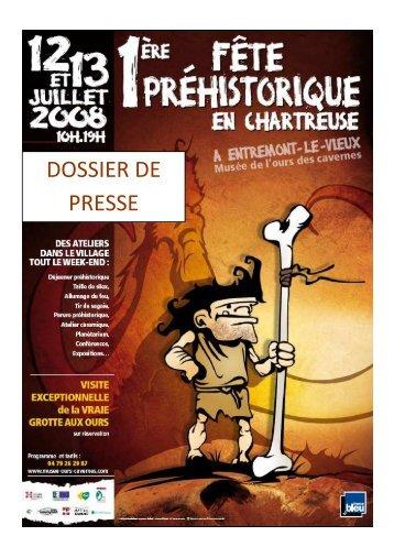 Dossier presse - Musée de l'Ours des Cavernes en Chartreuse