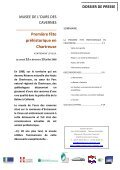 Dossier presse - Musée de l'Ours des Cavernes en Chartreuse - Page 2
