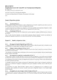 RÈGLEMENT d'application de la loi du 7 juin ... - Canton de Vaud