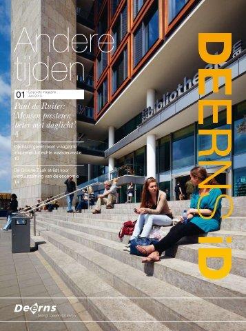 """Deerns iD magazine - 1 """"Andere tijden"""""""