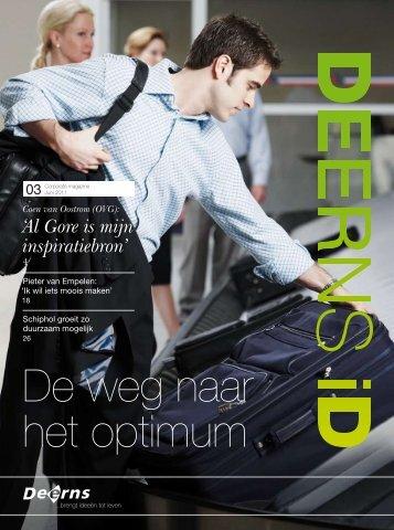 """Deerns iD magazine - 3 """"De weg naar het optimum"""""""